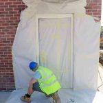Mobile services Spray Painting Doors