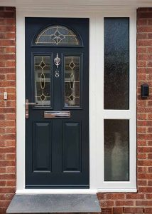 Painted composite doors